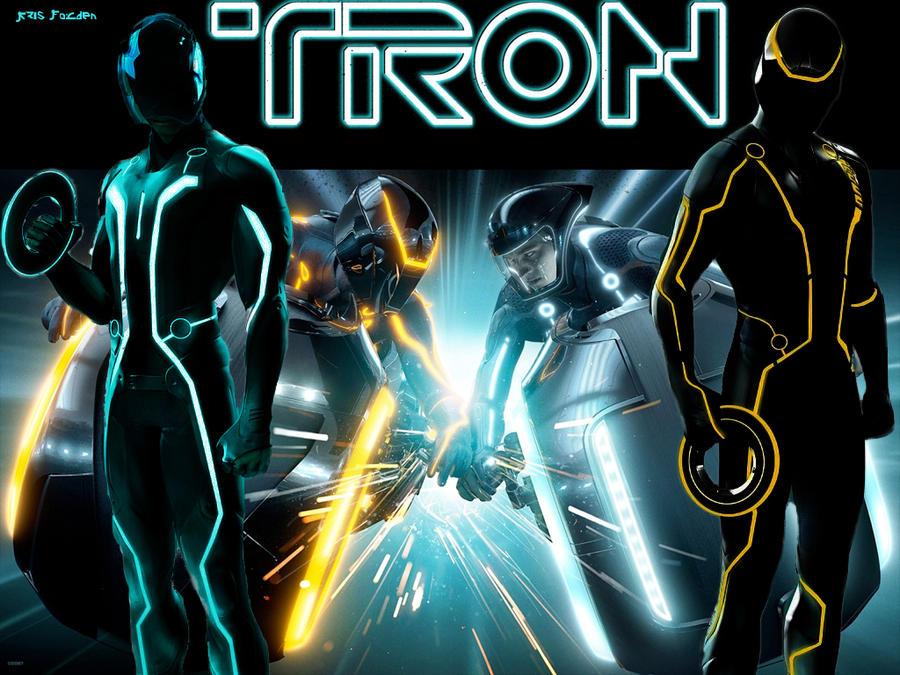 TRON Legacy Wallpaper by EzioParkour