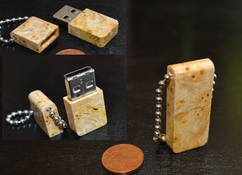 wooden USB by mimoix