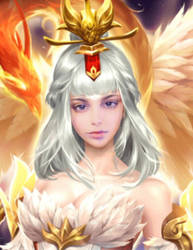 White Angel by mariamel23