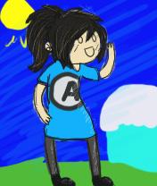Adventure time self sketch by JolenePixel
