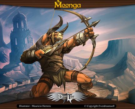 Moonga - Minotaur Archer