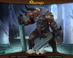 Moonga - Minotaur Berserker
