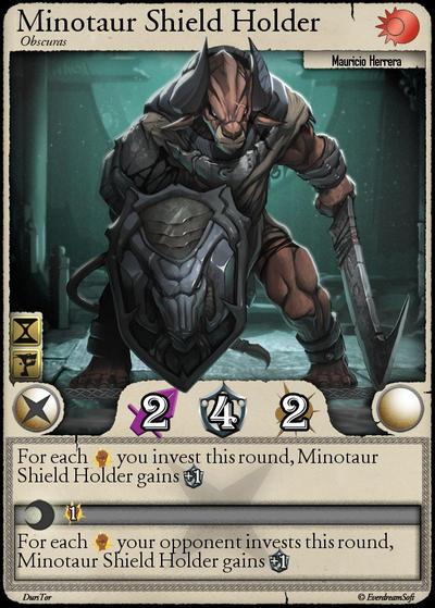 Moonga - Minotaur Shield Holder by moonga