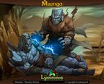 Moonga - Carniath Healer of Flames