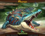 Moonga - Bone Breaker Crocodile