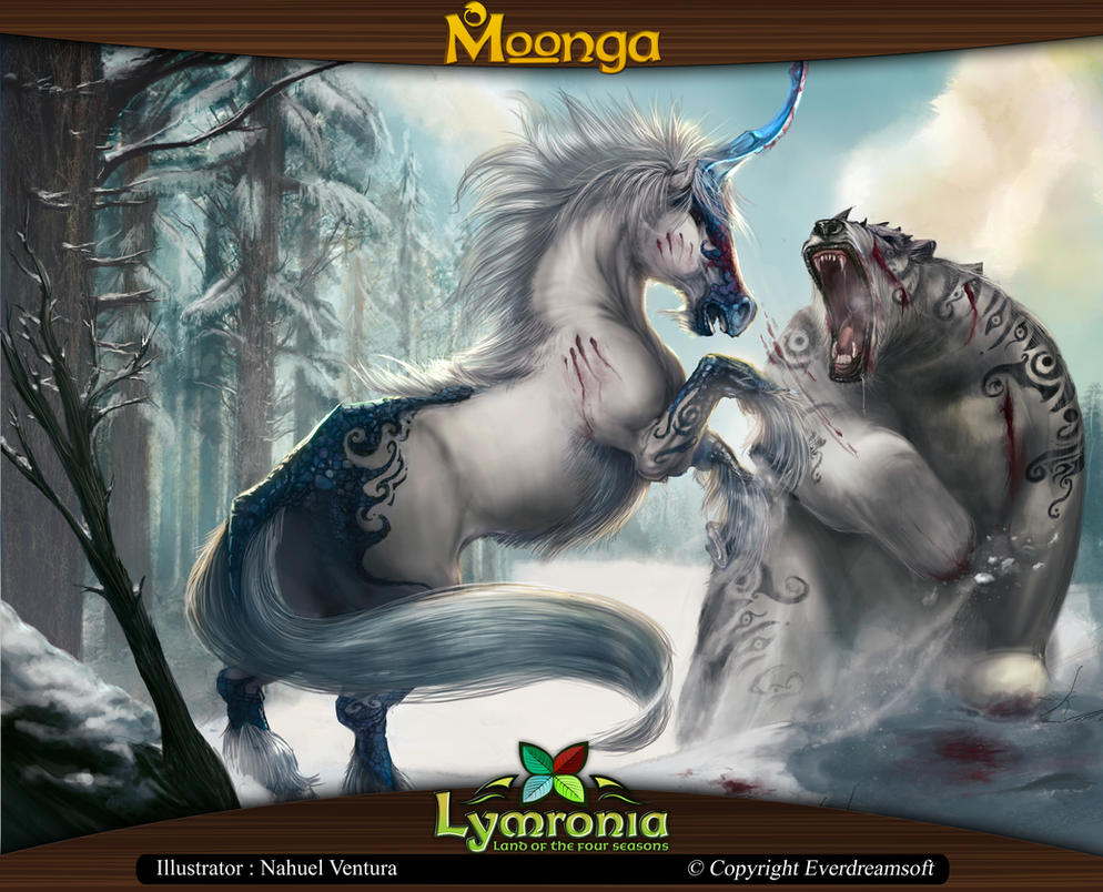 Moonga - Bear-Killing Unicorn by moonga