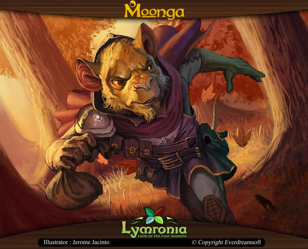 Moonga - Weanara Thief by moonga