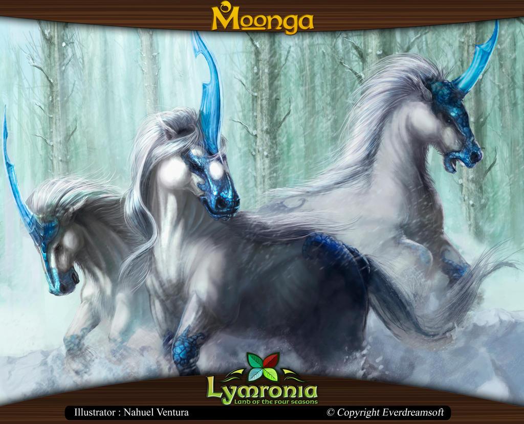 moonga group of unicorns by moonga on deviantart