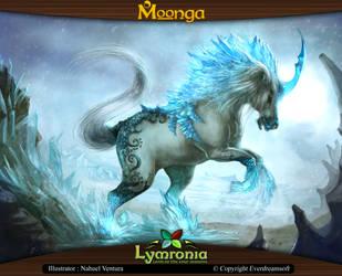 Moonga - Unicorn, Creator of Ice by moonga
