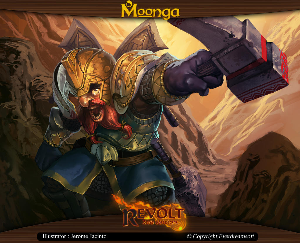 Moonga - Overarmed Dwarf by moonga