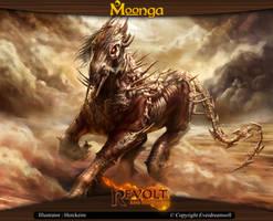Moonga - Desert Tyran by moonga