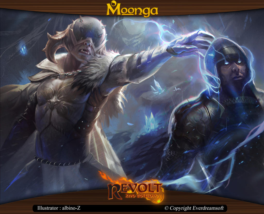 Moonga - Ghost Handler Mage by moonga