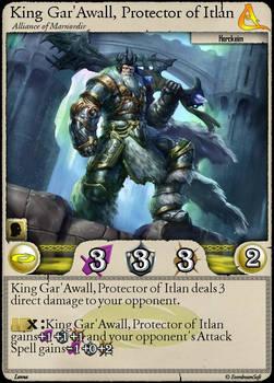 Moonga - King Gar'Awall, Protector of Itlan