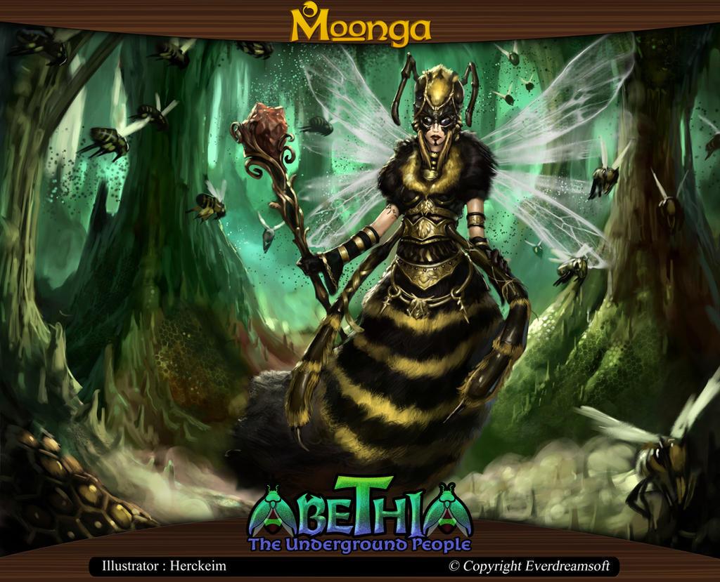 Moonga - Circa, Queen of Abethia