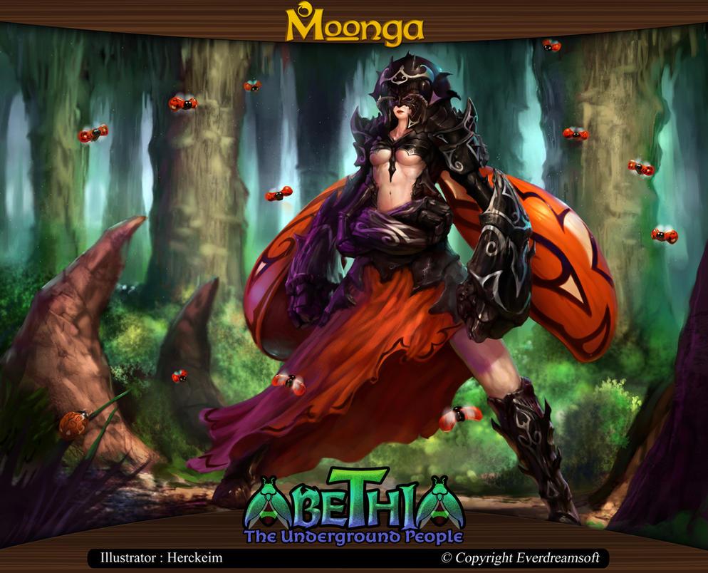 Moonga - Viscula Ladybug by moonga