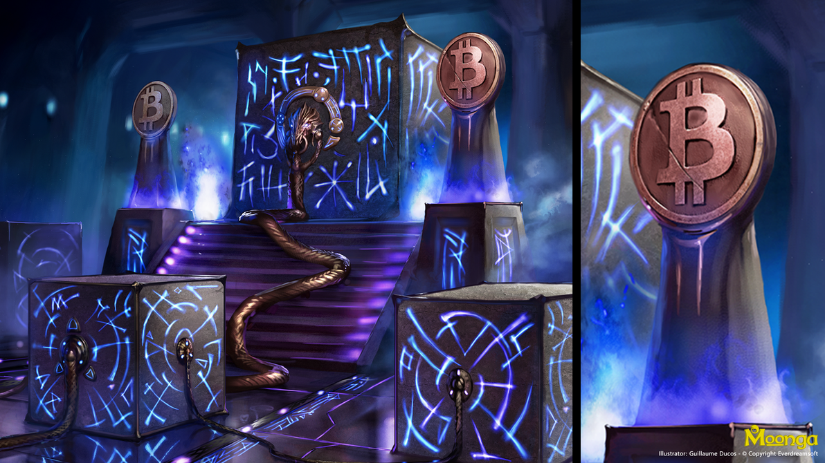 The Genesis block by moonga
