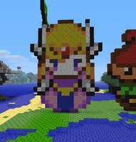 Zelda MC Pixel Art by dawning-daydreamers