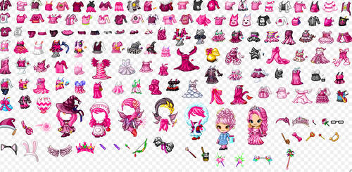 Fantagestuff Everything Pink Fantage Free To Use By Fantagestuff