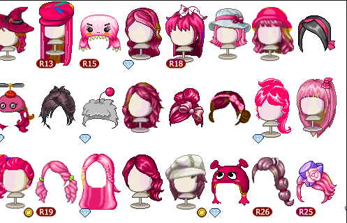 Pink Hair Fantage Free To Use By Fantagestuff