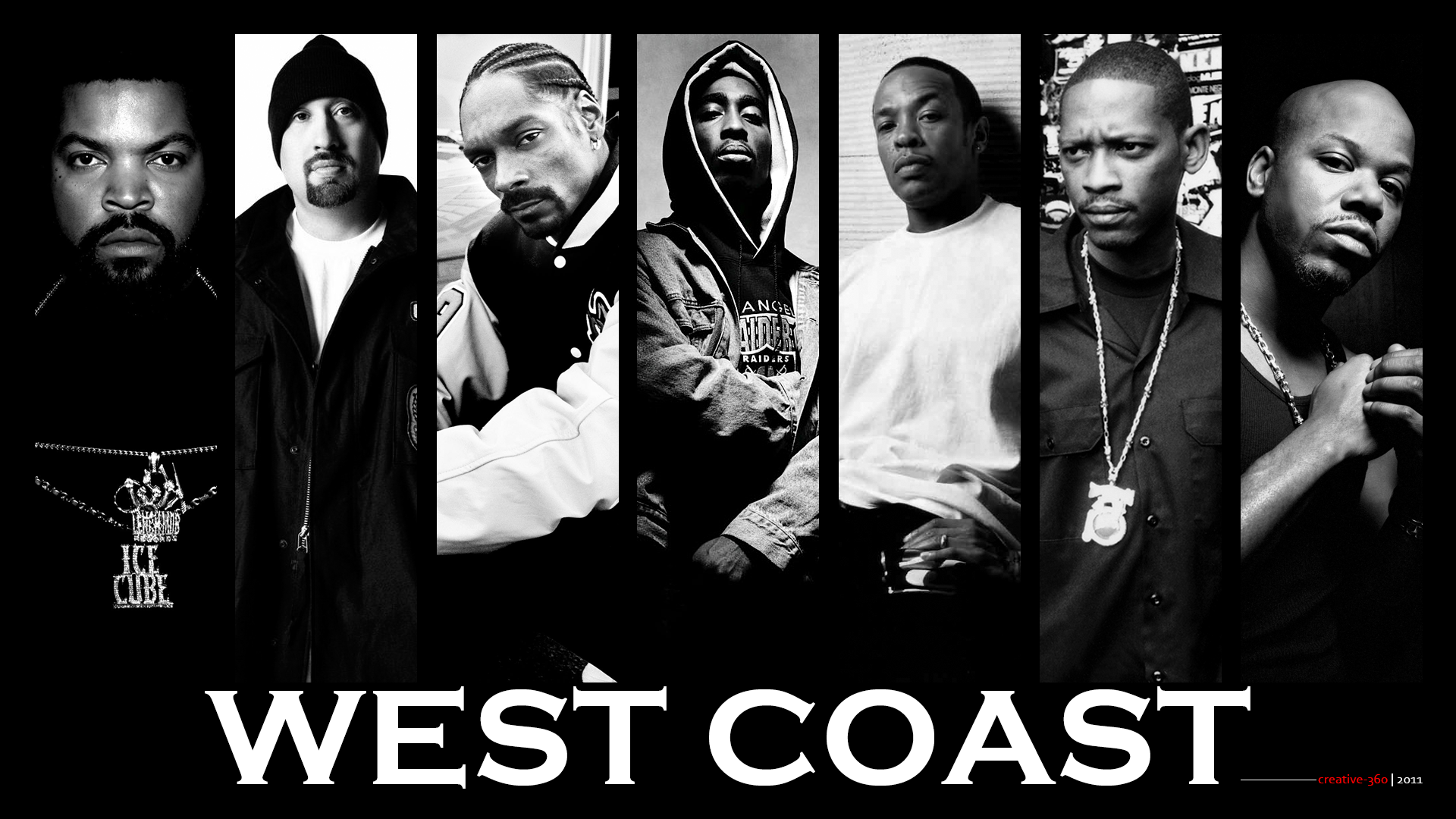 WEST COAST by creative-360West Coast Rappers Poster