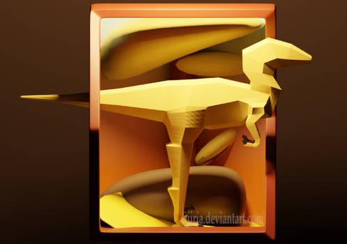 Low-Poly Raptor