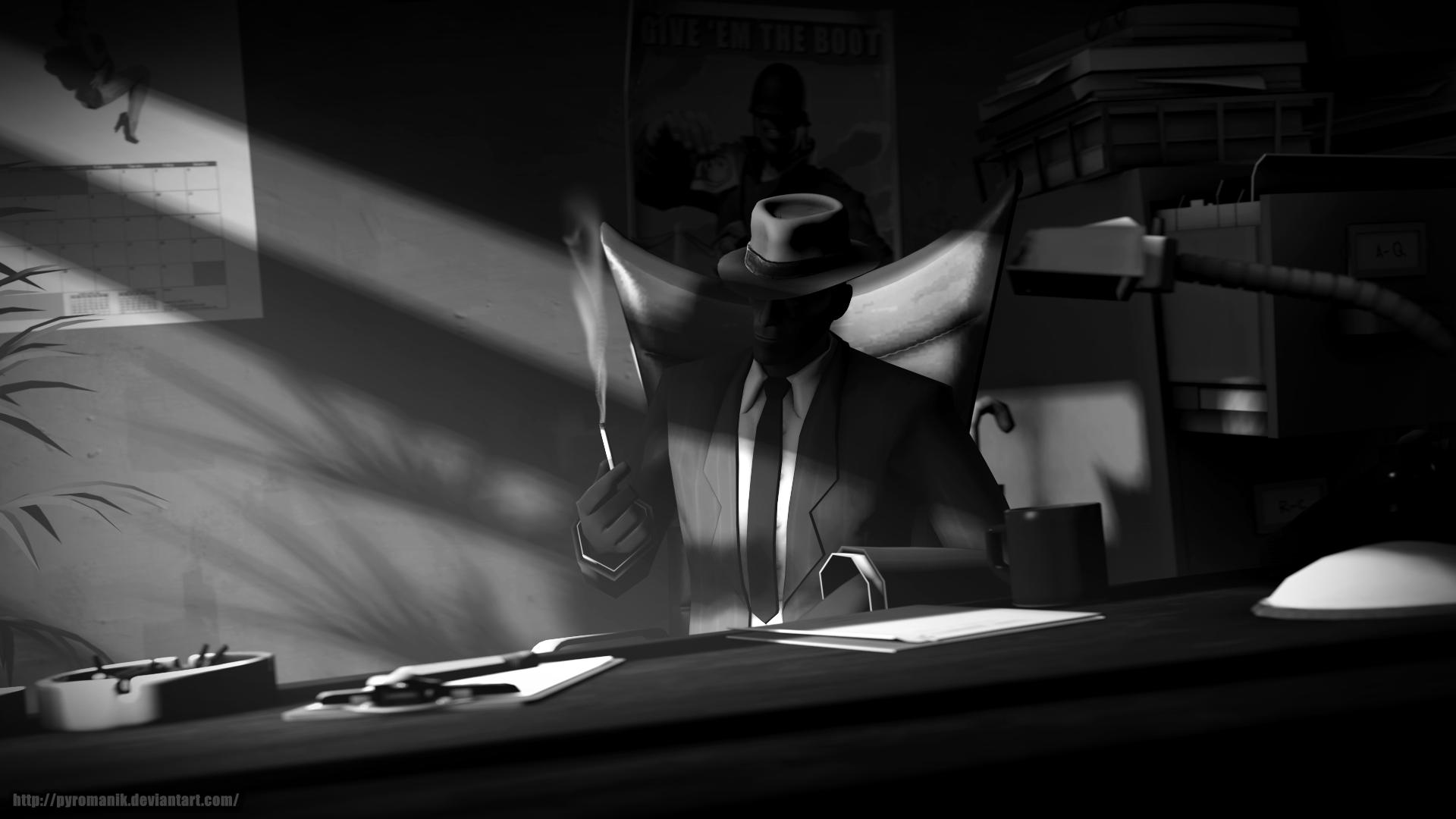 Detective Noir by Pyromanik