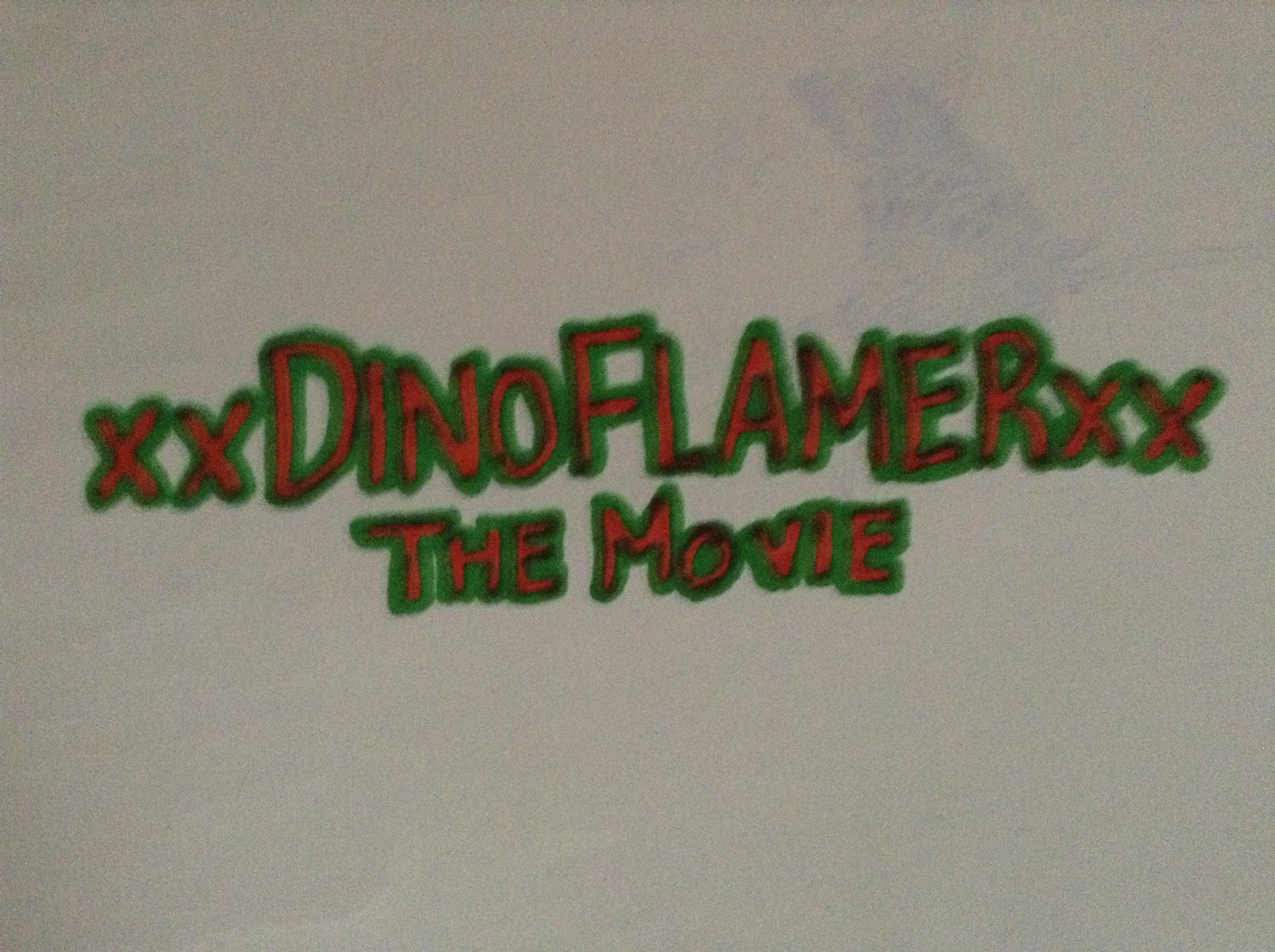 xxDinoFlamerxx -The Movie CONTEST!!! by FazbearClaim