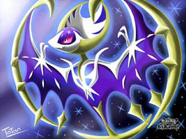 Pokemon Sun Pokemon Moon Lunaala legendary by tatanRG