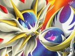 Solgaleo Lunaala Pokemon Sun Pokemon Moon
