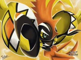 Tapu KoKo Pokemon Sun Pokemon Moon by tatanRG