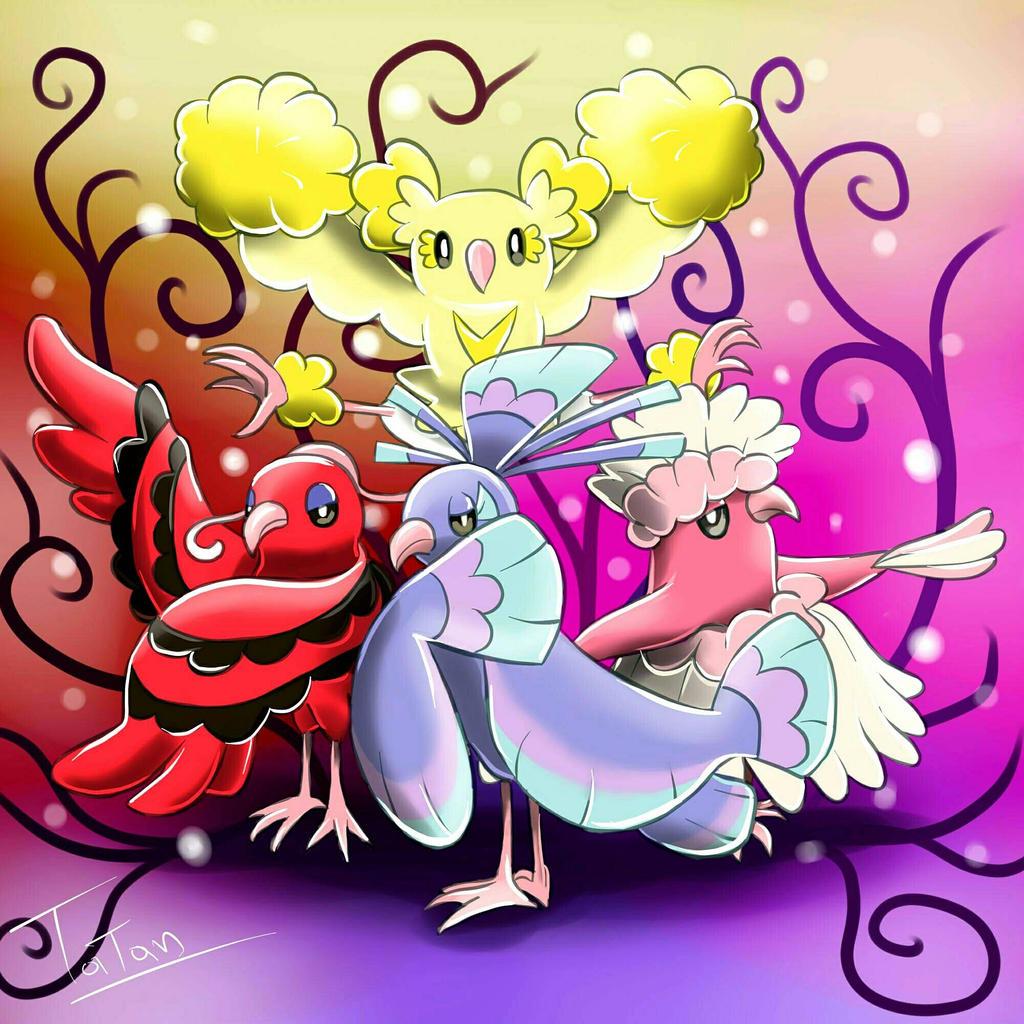 Oricorio Pokemon Sun Pokemon Moon