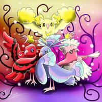 Oricorio Pokemon Sun Pokemon Moon by tatanRG