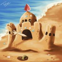 Palossand Pokemon Sun Pokemon Moon by tatanRG
