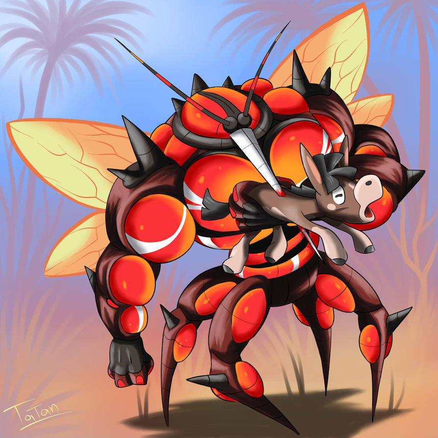 Ultra Beast 02 Absorption Pokemon Sun Pokemon Moon By Tatanrg On Deviantart