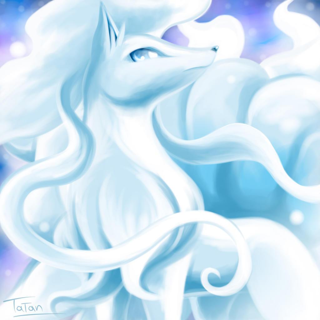 Alolan Ninetales Art