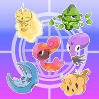 Fakemon New Generation Pokemon Infinity Gems by tatanRG