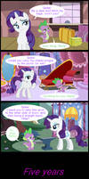 Rarity knows how to get what she wants