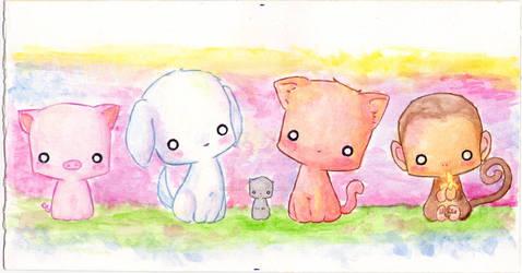 animals by NenufarAzul