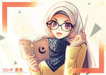 Muslim girl wallpaper... by jokochimaru