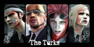The Turks FFVII Collage