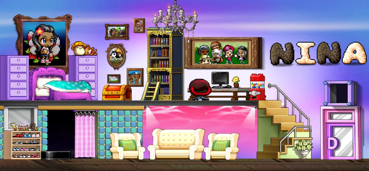 Ninas Personalized Bedroom By XXYazzyXx