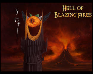The Mordor of Blazing Fires by Alteigramme