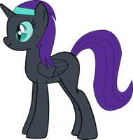 Nyx grown up by SnowflamePony