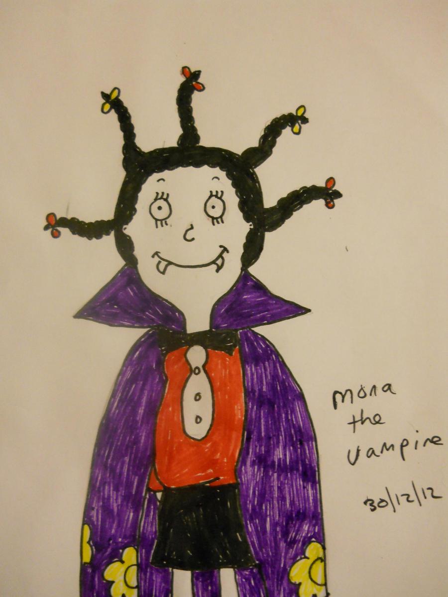 mona the vampire by naniloke on DeviantArt Mona The Vampire