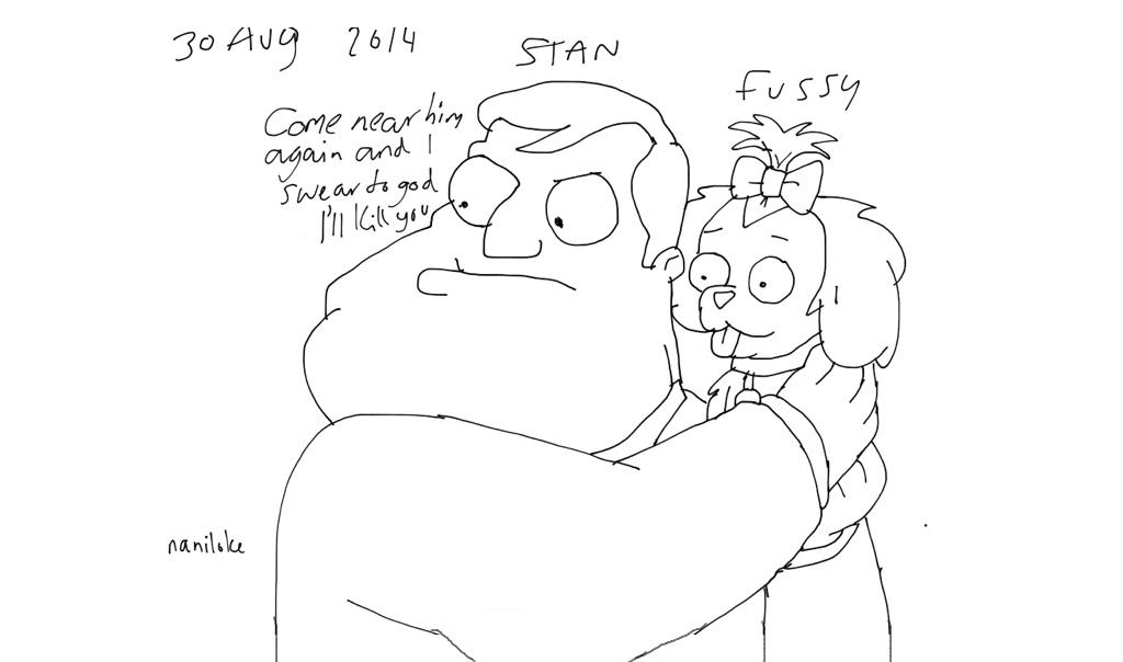 Stan fussy by naniloke