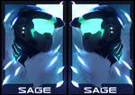 SAGE Badge by Sageixen