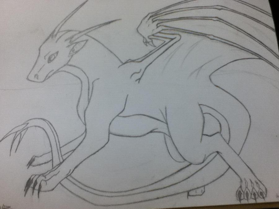Dragon by BloodMoonRising666