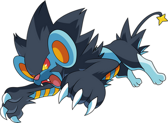 Luxray Vector by Pokemon-Vector-Art
