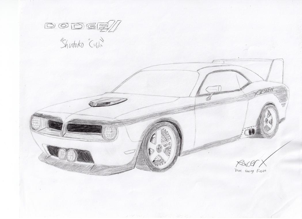 "Dodge ""Shutoko 'Cuda"" by"