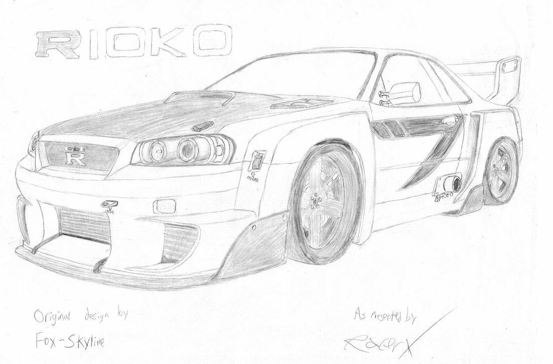 Nissan Skyline Gt R Rioko By Racerxnfs On Deviantart